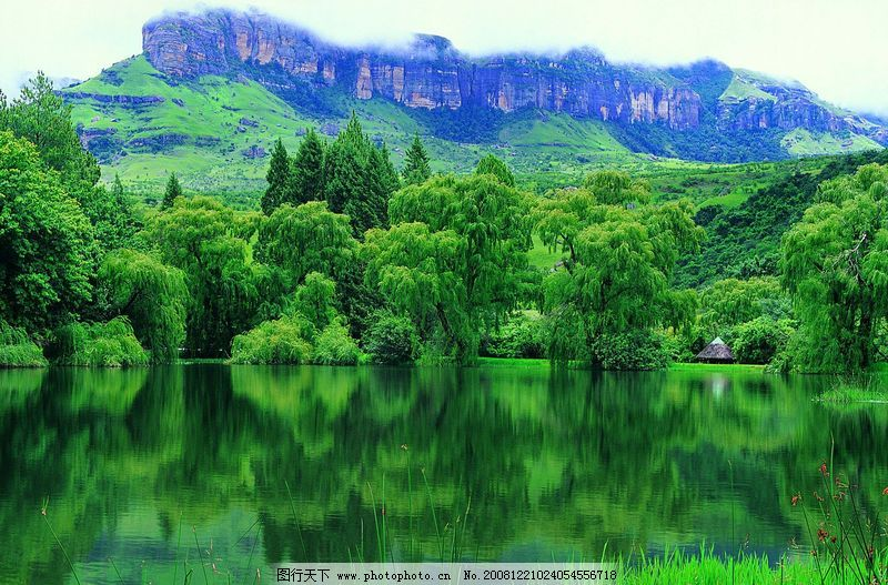 瀑布与水源0015 自然风景