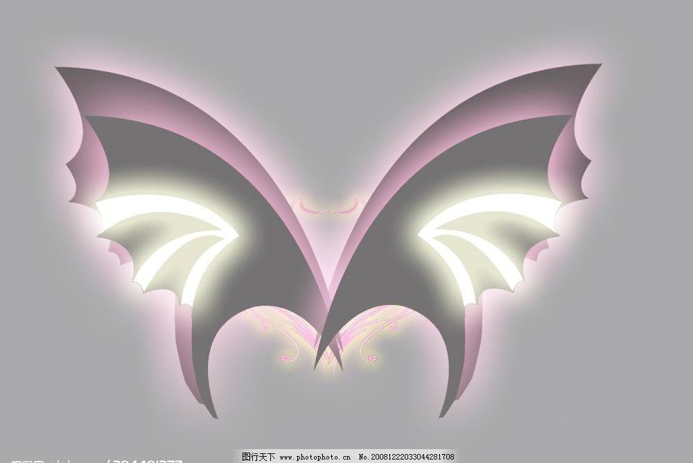 蝴蝶 翅膀图片