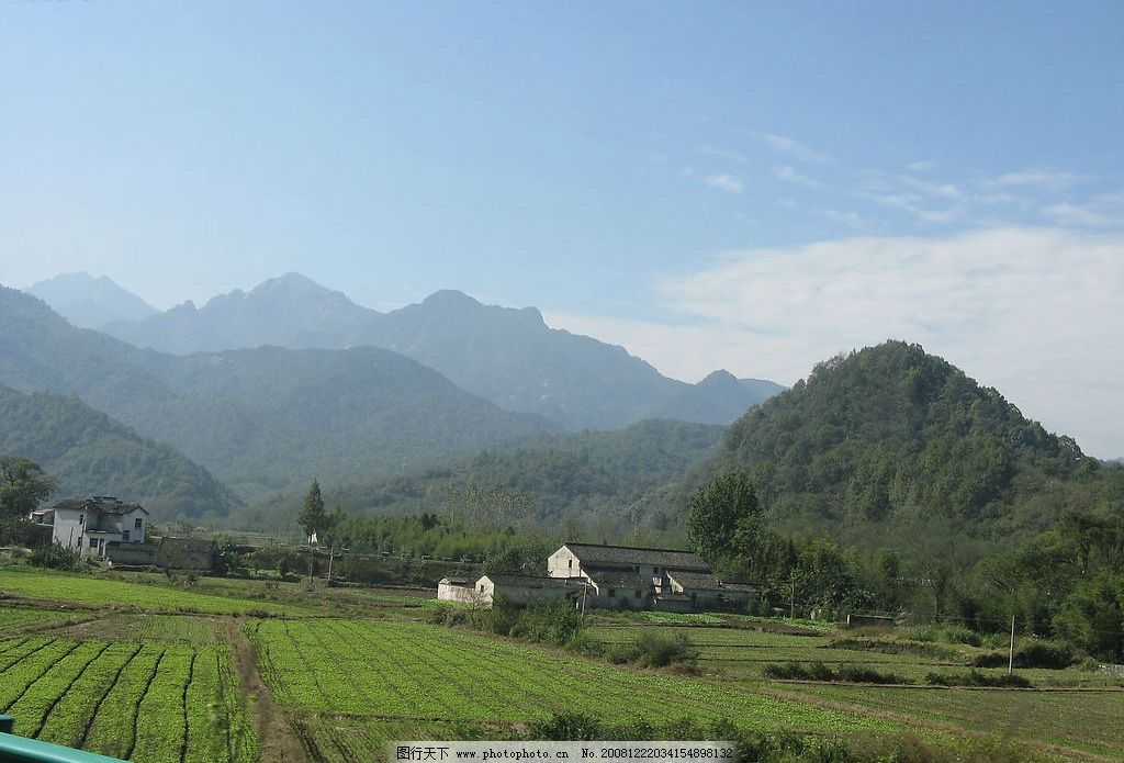 皖南风景图片