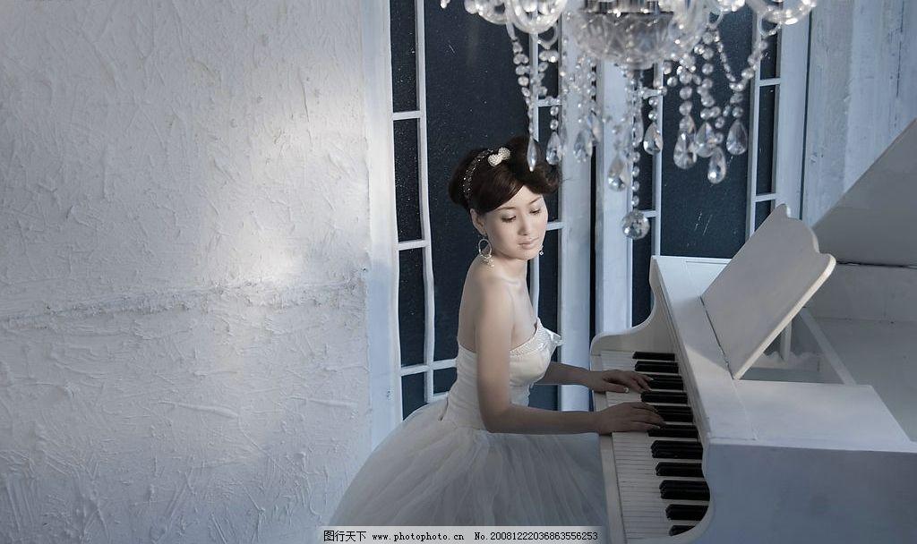 婚纱摄影 婚纱 礼服 摄影 写真 美女 人物图库 女性女人 摄影图库 240