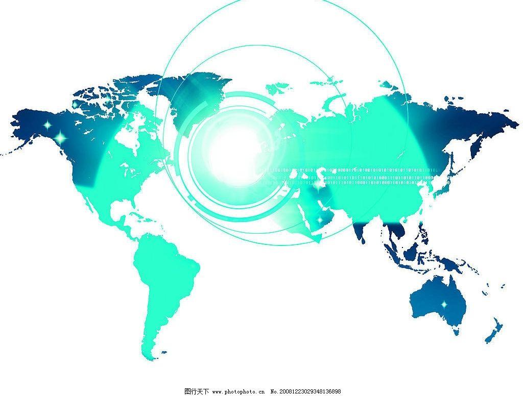 科技地图网站素材