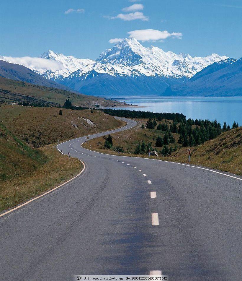 澳大利亚道路风景图
