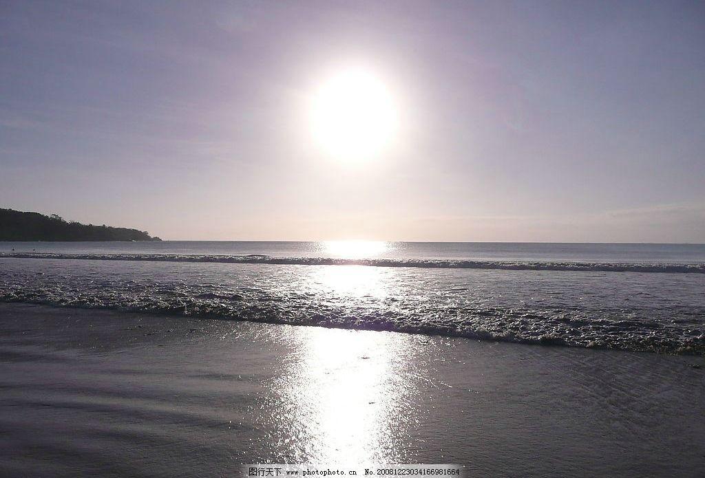 大海日出 大海 海水 海浪 太陽 陽光 天空 自然風光 山水剪影 旅游