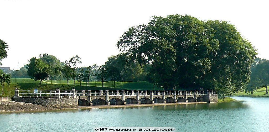 新加坡庇亜士蓄水池图片_山水风景_自然景观_图行天下