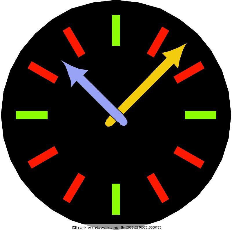 设计 时钟 矢量 矢量图 素材 钟表 800_791