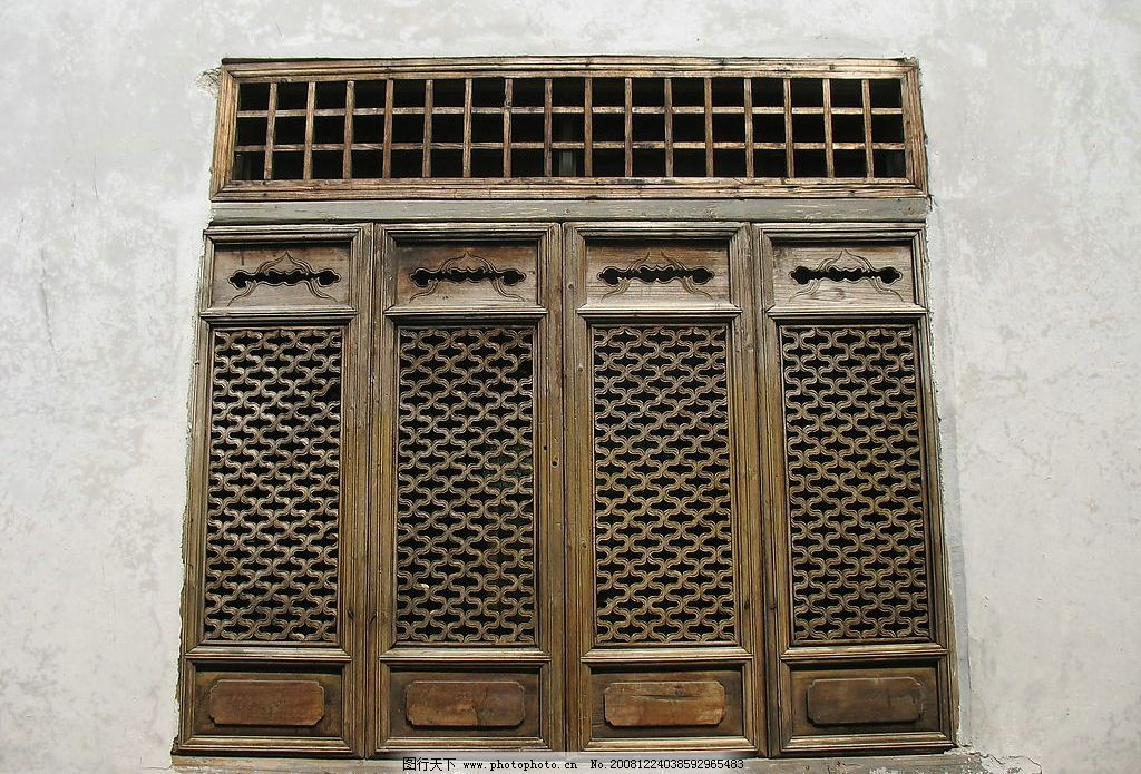 中国古代门窗图片