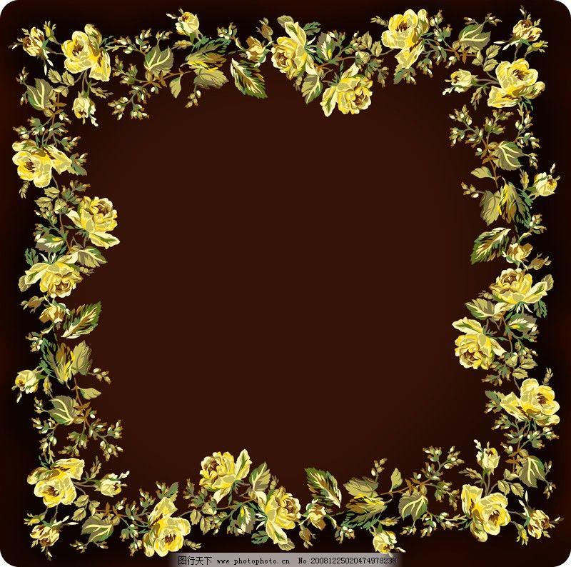 花卉边框0030 自然风景