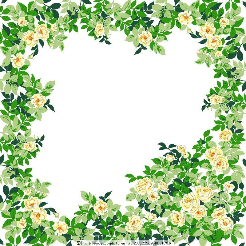 花卉边框0023 自然风景