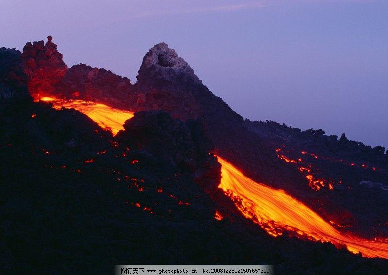 闪电火山0093 自然风景