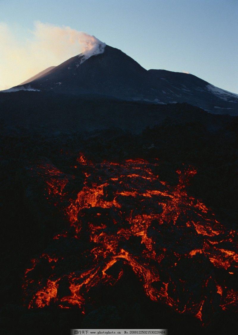 闪电火山0095 自然风景