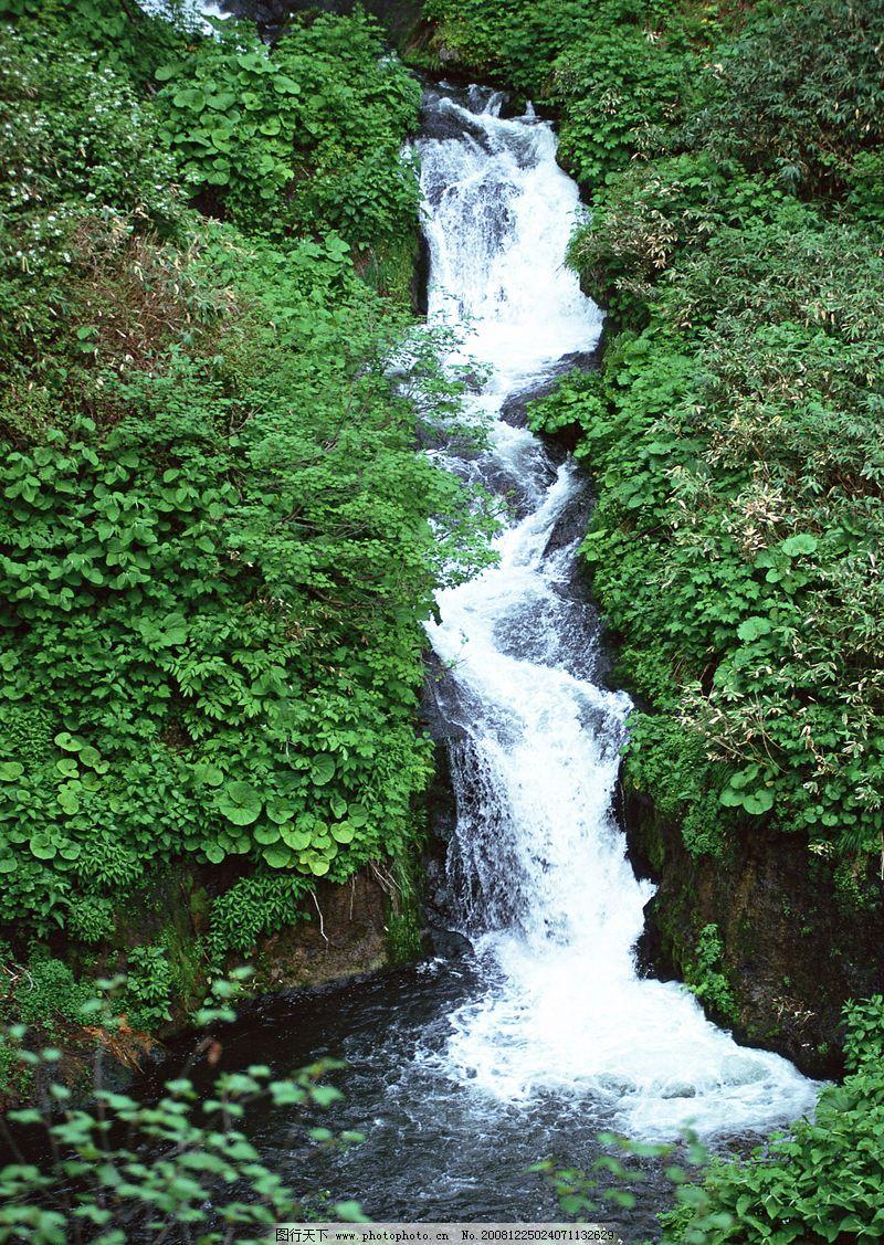 瀑布水源0236 自然风景