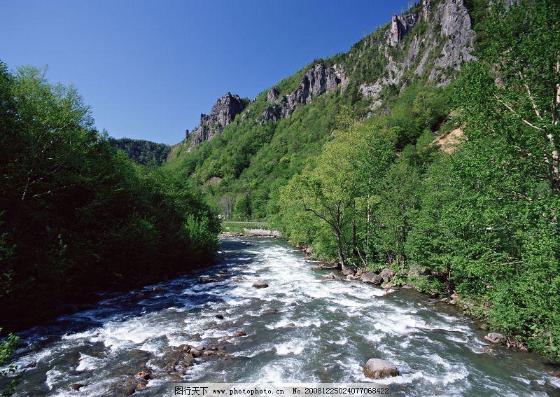 瀑布水源0154 自然风景
