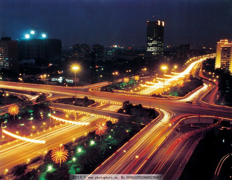 绿色 贪图/北京夜景0117