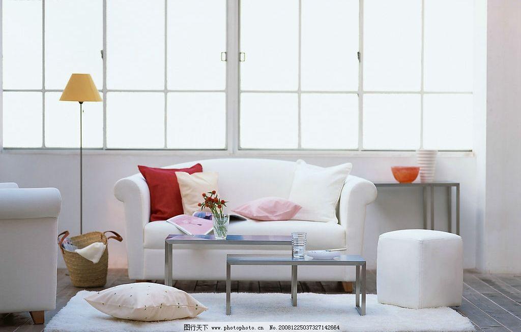 欧式客厅设计 欧式设计 沙发 台灯 地毯 茶几 室内设计 家居生活