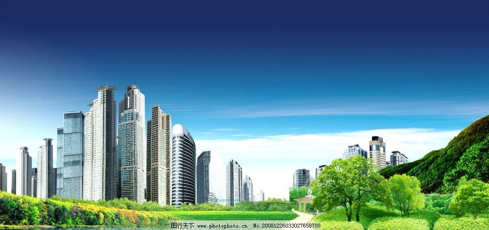 房产 草地 亭子 野外 别墅 时尚 风景 自然 清新 高像素 湖 小池塘
