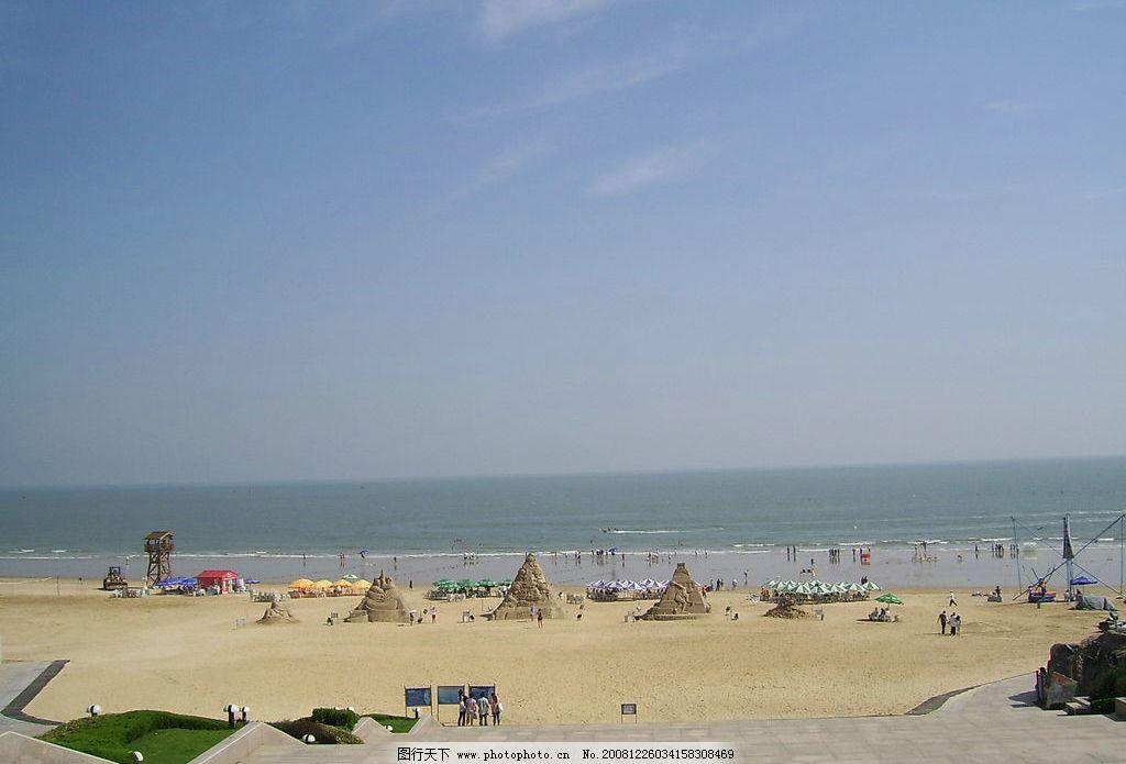 连云港海边 连云港 海边 沙雕 沙滩 旅游摄影 自然风景 摄影图库 96