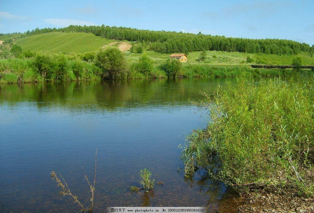 风景 山水 绿树 自然景观 田园风光 摄影图库 96dpi jpg