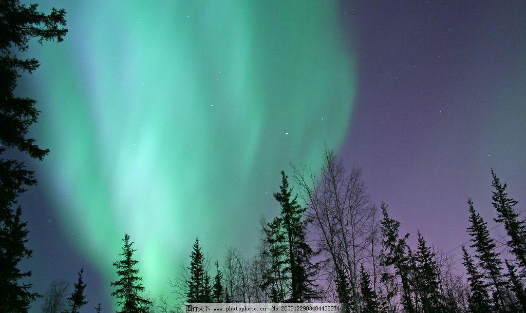 极光 北极 南极 自然景观 自然风景 摄影图库 72dpi jpg