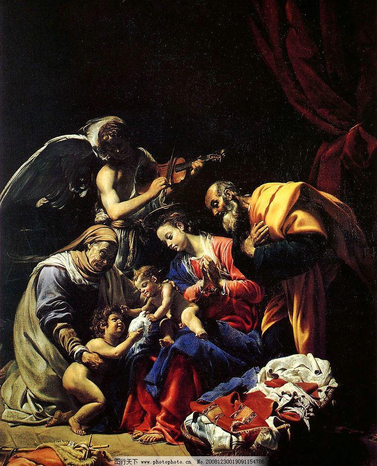 文艺复兴时期油画图片